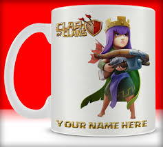 clash of clans archer pics toko6 clash of clans princess archer with your name 2 mug