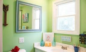 kids bathroom before u0026 after brightening a tiny windowless space
