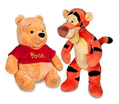 images of tigger from winnie the pooh winnie the pooh and tigger plush 14 medium combo set