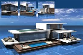 floating houses floating house future residence on water