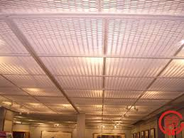 Lights For Drop Ceiling Basement by Metal Stretched Drop Ceiling Tiles Grid Panel Buy Metal Lighting