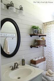 farmhouse bathroom ideas a farmhouse bath makeover cheapest shiplap how to hometalk