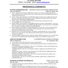 Linux Administrator Resume Sample by Resume For Linux Administrator Resume For Your Job Application