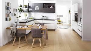 belles cuisines cuisine blanche et bois clair source d inspiration les plus belles