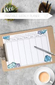 monthly day planner template top 25 best weekly planner printable ideas on pinterest weekly free printable weekly planner for 2017