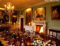 althorp house marlborough room in england historic home of the