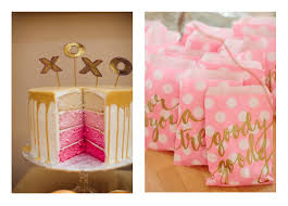 pink and gold party supplies birthday party party trends pink and gold