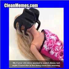 Funny Barbie Memes - alien barbie clean memes