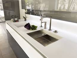 single bowl kitchen sink corian with drainboard silver