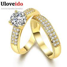 cheap wedding rings sets for him and uloveido jewelry promise engagement rings for couples men