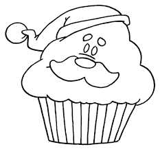 birthday cupcake coloring page image inspiration of cake and