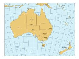 australia map capital cities australia powerpoint map with countries states capital cities