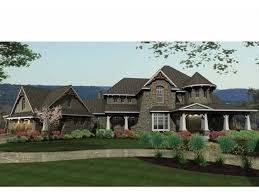 dreamhome source it s your own castle plan dhsw73229 has a turret lots of porches