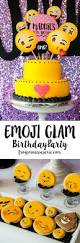 halloween party ideas for tweens glam emoji birthday party ideas frog prince paperie