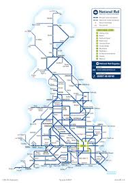 Map England by National Rail Enquiries Maps Of The Uk National Rail Network