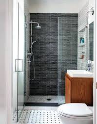 classy tile shower ideas for small bathroom plans floor bathrooms