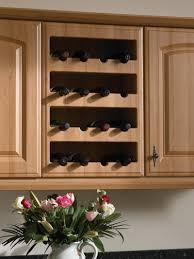 cabinet kitchen cabinet with wine rack best wine storage