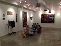 nwk to mia here is the art work from abstrk u0027s art show at