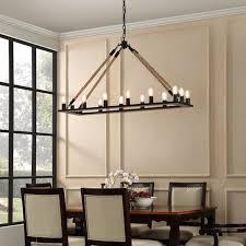 rustic rectangular chandeliers indoor outdoor rectangular rustic