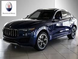 maserati levante red new inventory maserati of alberta