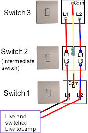 Three Way Light Switch Wiring Diagram Sweet Three Way Light Switching Light Fitting With Marvellous