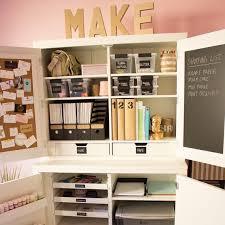 Craft Storage Cabinet 5 Secrets Of A Beautifully Organized Craft Room Martha Stewart