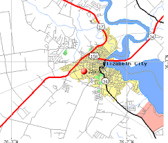elizabeth city nc zip code map zip code map