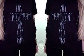 t shirt all monsters are human american horror story