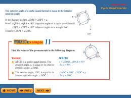 Interior Angles In A Circle Angles In Circle