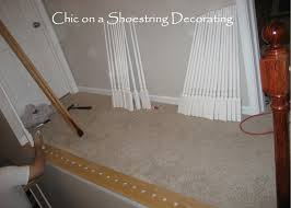 Oak Stair Banister Chic On A Shoestring Decorating How To Stain Stair Railings And