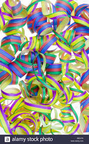 new years streamers paper new year s streamers stock photo royalty free image