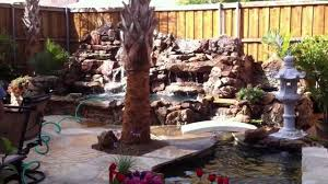 pond diy backyard fountains and waterfalls above ground fish