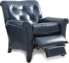 La Z Boy Sanders Furniture by High Leg Recliner Poet Leather Power Highleg Recliner Bella