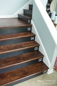 Cost To Decorate Hall Stairs And Landing Diy Staircase Makeover