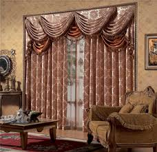 living room living room curtains has interior dark brown fabric