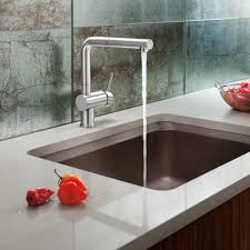 red kitchen faucet delta touch kitchen faucet red light combined brushed nickel also