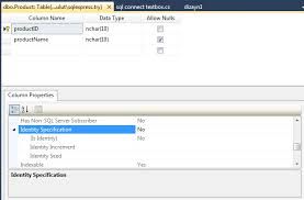 sql create table primary key autoincrement how to auto increment primary key in visual studio built in sql