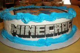 Minecraft Cake Decorating Kit Rockin U0027 My Life Blog Archive Minecraft Birthday Party