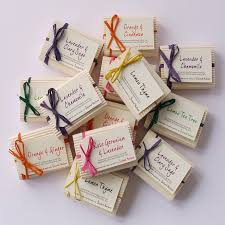 soap wedding favors mini handmade guest soaps by second nature soaps
