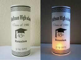 centerpieces for class reunions 12 personalized high school reunion centerpiece table party