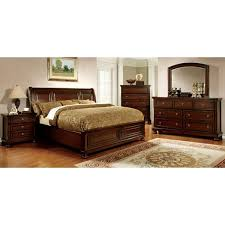 furniture of america barelle ii cherry 4 bedroom set free