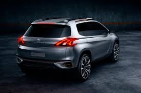 car peugeot 2008 peugeot 2008 previewed as urban crossover concept autoevolution