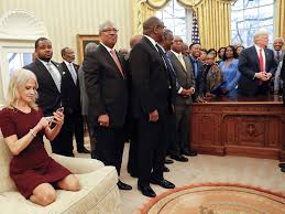 Oval Office Wallpaper by Kellyanne Conway Explains Why She Had Her Feet On Oval Office Sofa