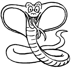 coloring pages snake 4565