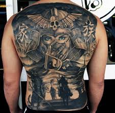 Back Pieces Tattoos 120 Back Tattoos For Masculine Ink Designs