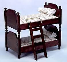 Doll House Bunk Bed Dollhouse Bunk Bed Furniture Set For Children U0027s Bedroom Fingertip