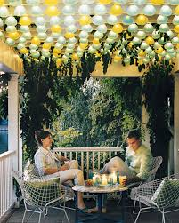 Decorating With String Lights Outdoor Lighting Ideas Martha Stewart