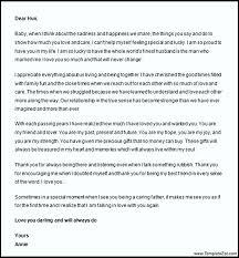 sample love letter to husband templatezet
