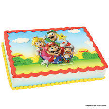 mario cake topper mario bros cake decorations ebay