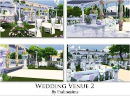 wedding arches in sims 4 pralinesims wedding venue 2 the sims 4 cc furniture houses